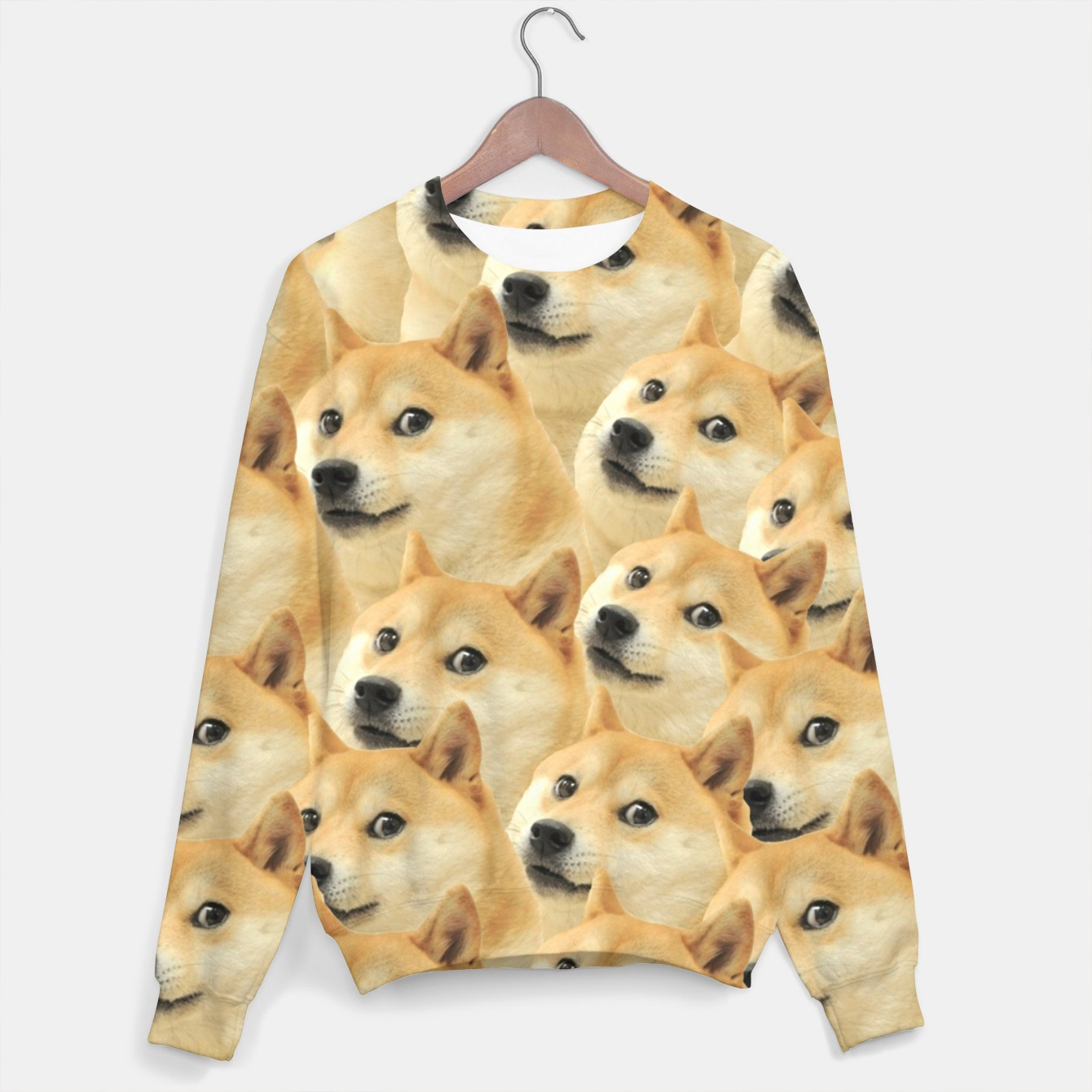 Image of Doge Sweater - Live Heroes