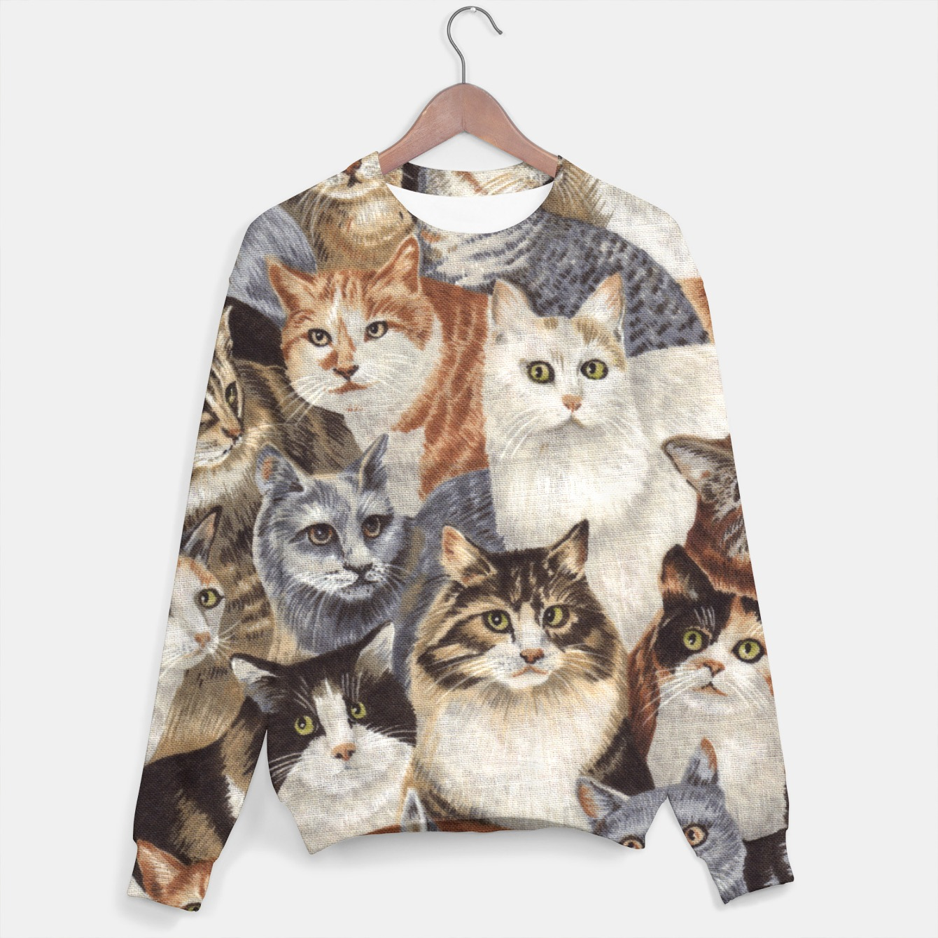 Image of Cats Sweater - Live Heroes