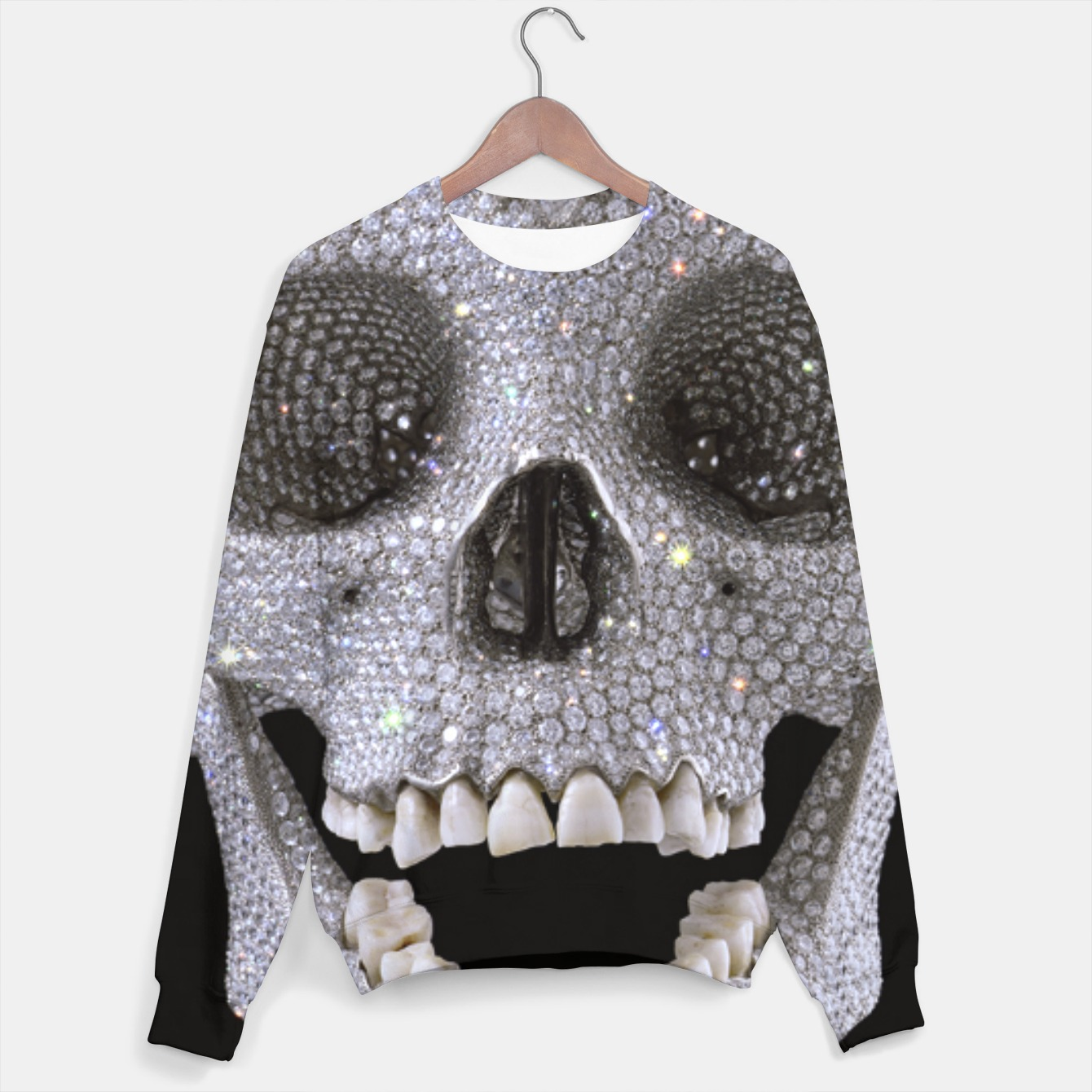 Image of Skull Sweater - Live Heroes