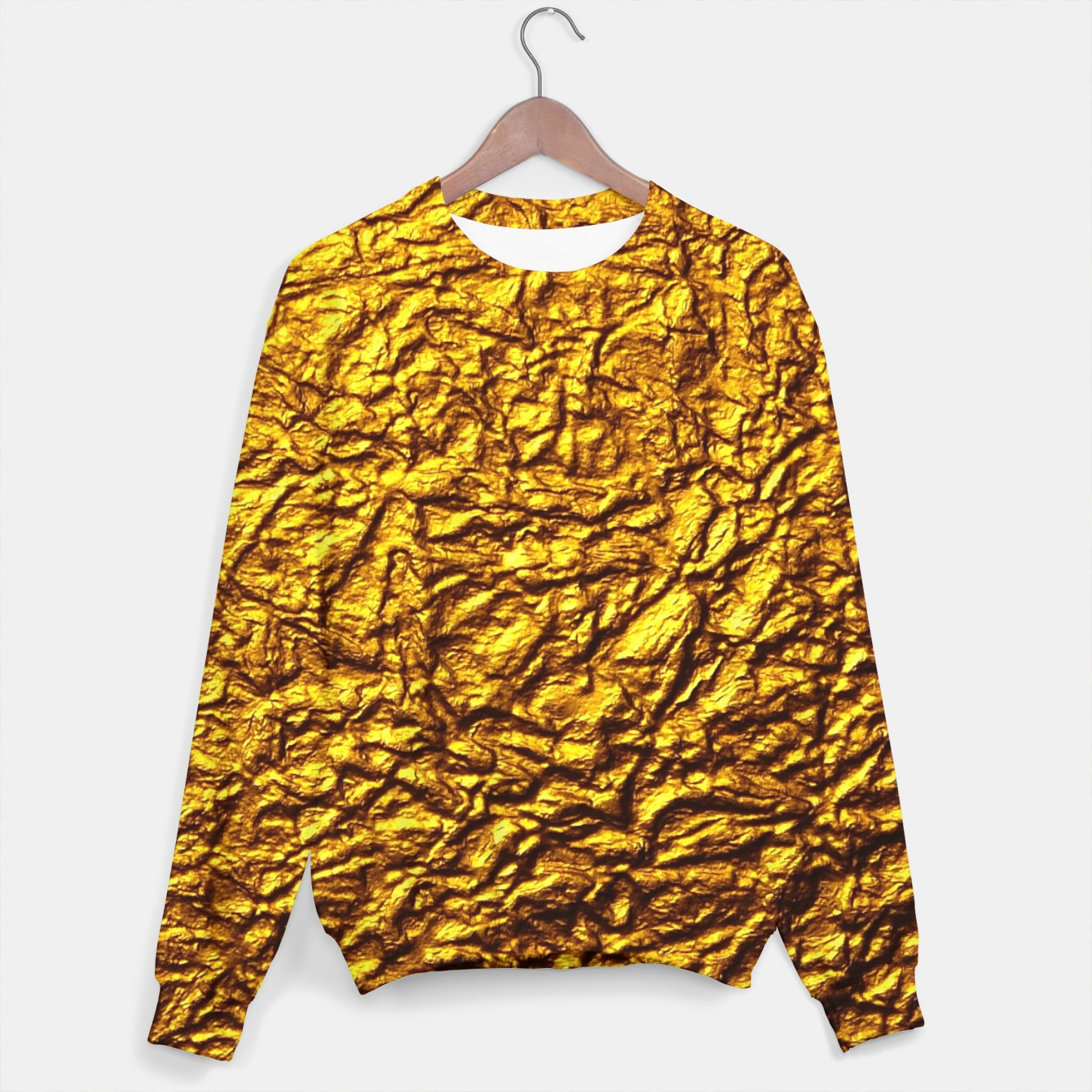 Image of Gold Sweater - Live Heroes