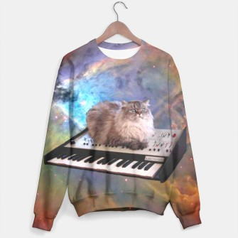 Thumbnail image of Space Cat sweater, Live Heroes