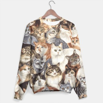 Thumbnail image of Cats sweater, Live Heroes