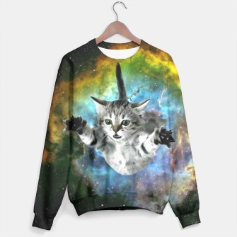 Thumbnail image of Jumper Cat sweater, Live Heroes