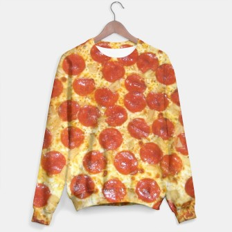 Miniatur Pizza sweater, Live Heroes