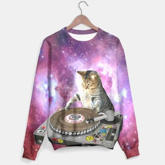 Thumbnail image of Hey DJ sweater, Live Heroes
