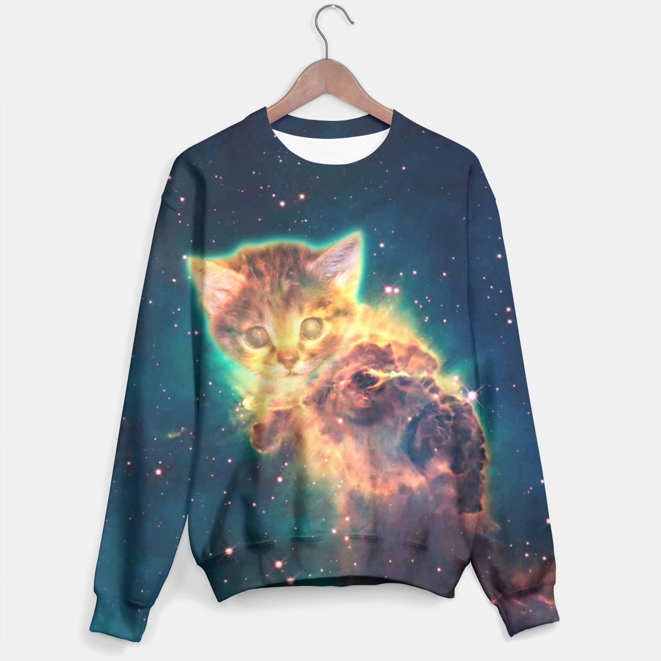 Image of Space Cat 2 sweater - Live Heroes