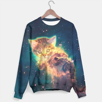 Miniatur Space Cat 2 sweater, Live Heroes