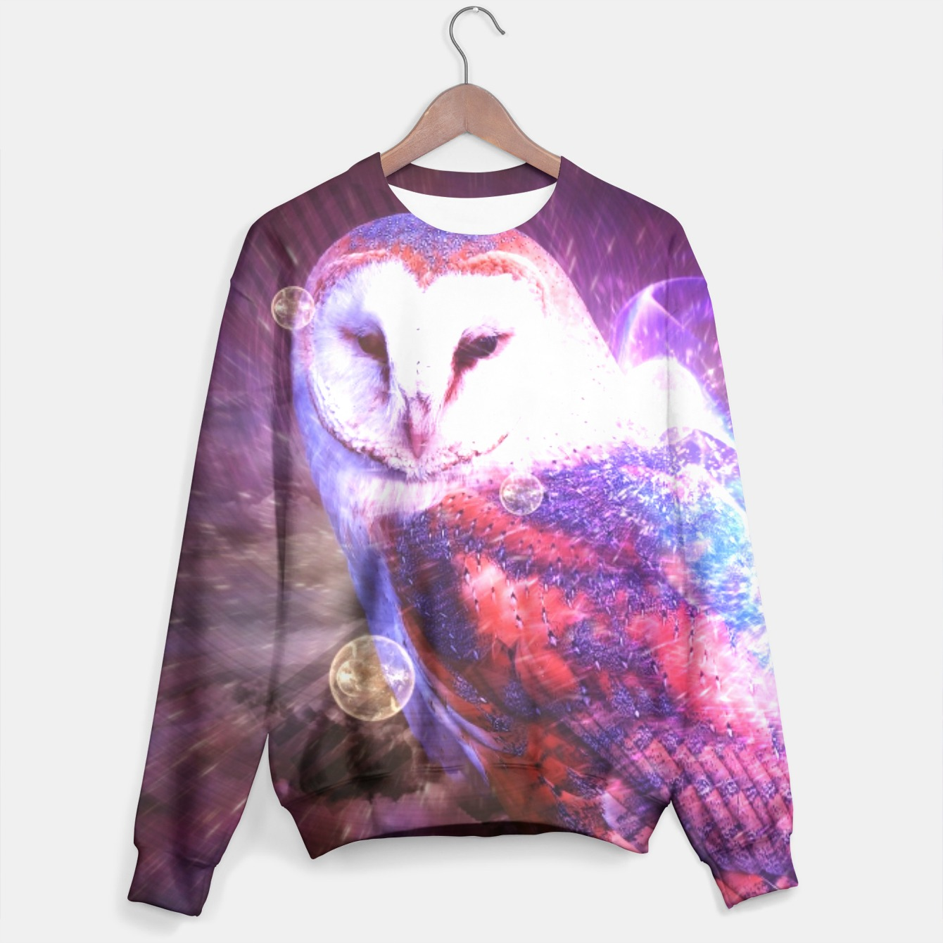 Image of Owl sweater - Live Heroes
