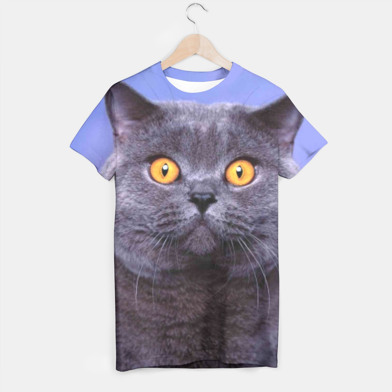 Image of British Cat t-shirt - Live Heroes