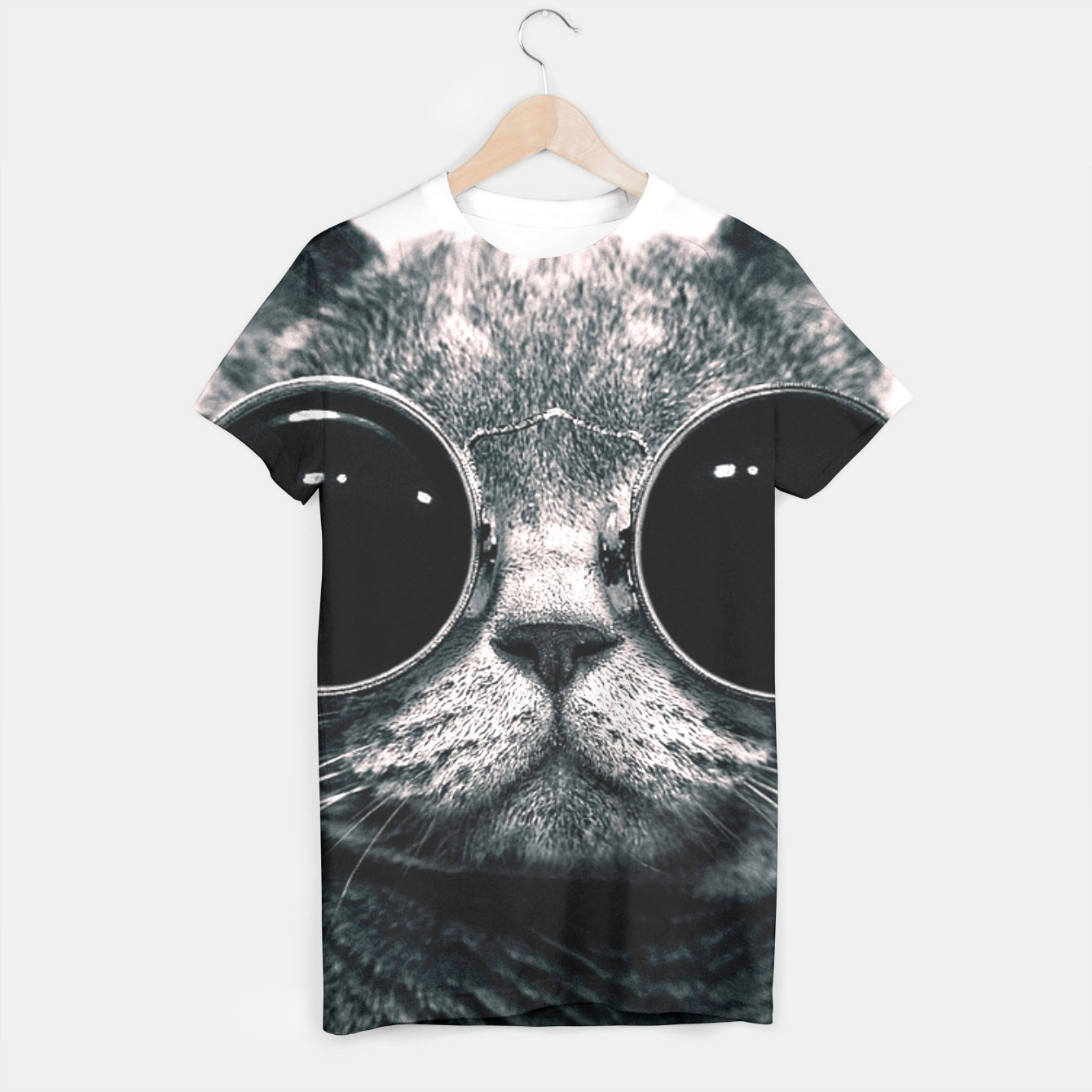Image of Leon Cat t-shirt - Live Heroes