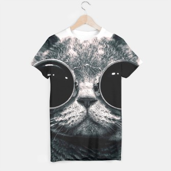 Thumbnail image of Leon Cat t-shirt, Live Heroes