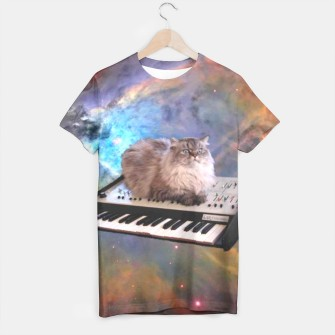 Miniatur Space Cat t-shirt, Live Heroes