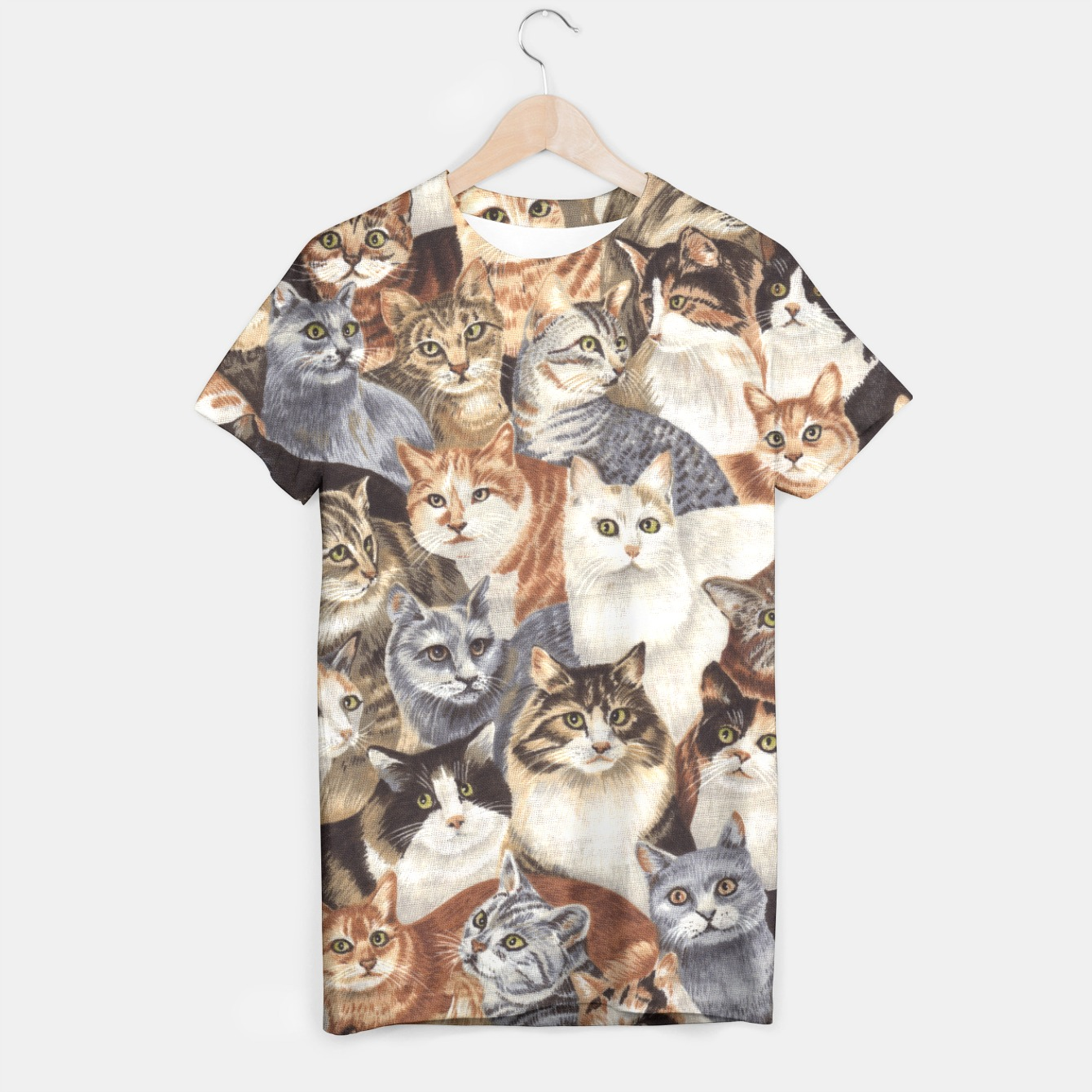 Image of Cats t-shirt - Live Heroes