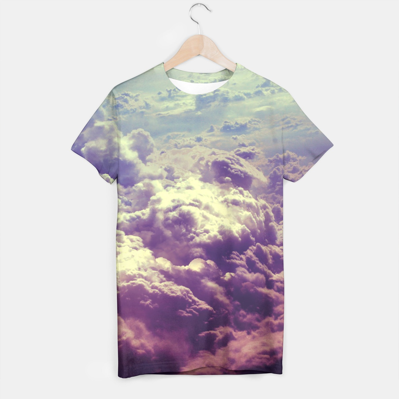 Image of Clouds t-shirt - Live Heroes