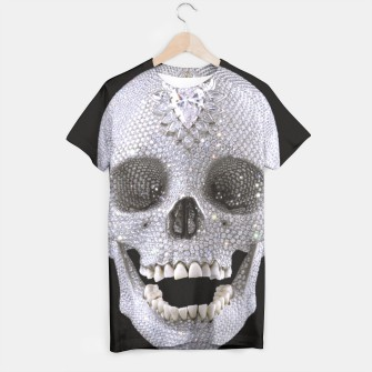 Thumbnail image of Diamond Skull t-shirt, Live Heroes