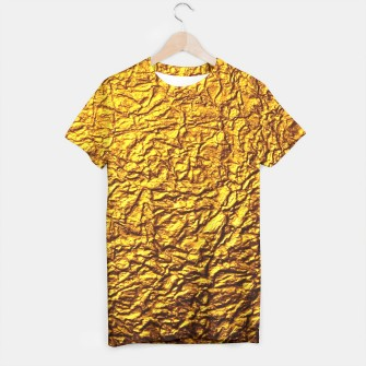 Thumbnail image of Gold t-shirt, Live Heroes