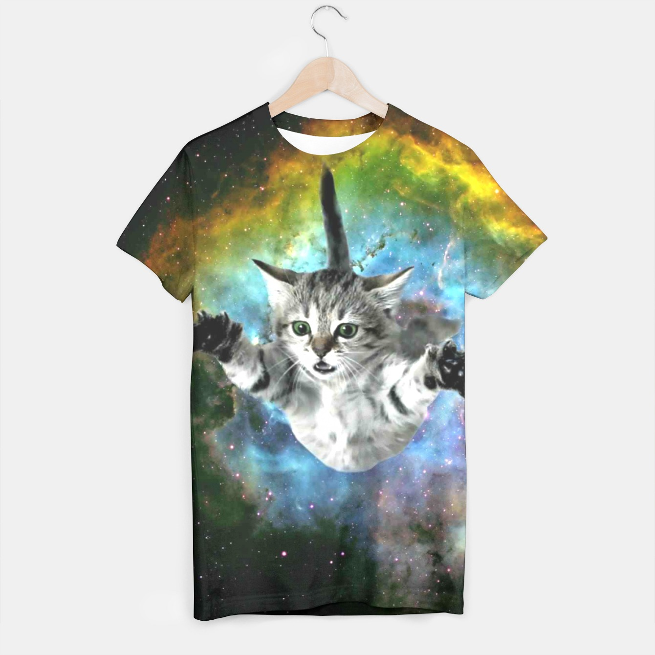 Image of Jumper Cat t-shirt - Live Heroes