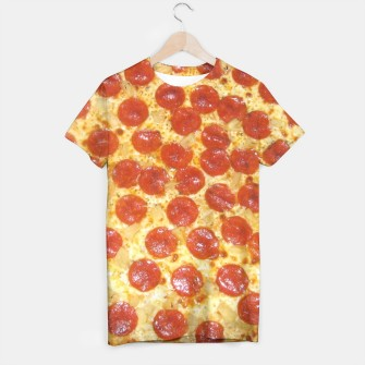 Thumbnail image of Pizza t-shirt, Live Heroes