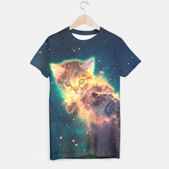 Miniatur Space Cat 2 t-shirt, Live Heroes