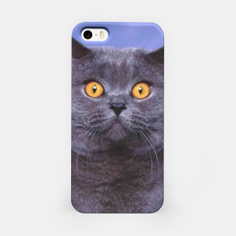 Miniatur British Cat iPhone Case, Live Heroes