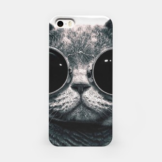 Miniatur Leon Cat iPhone Case, Live Heroes