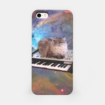 Miniatur Space Cat iPhone Case, Live Heroes