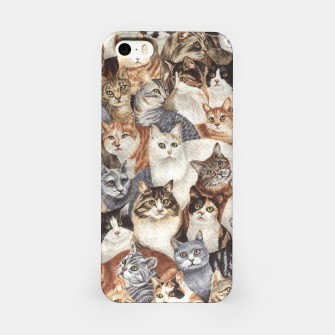 Miniatur Cats iPhone Case, Live Heroes