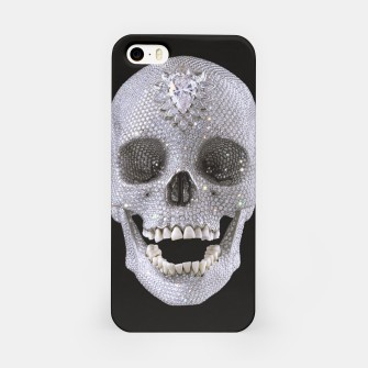Miniatur Diamond Skull iPhone Case, Live Heroes