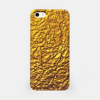 Miniatur Gold iPhone Case, Live Heroes