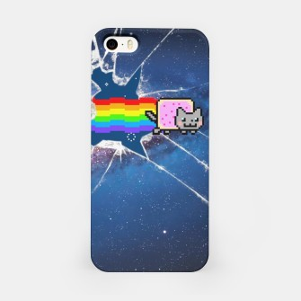 Miniatur Nyan Cat Breaker iPhone Case, Live Heroes