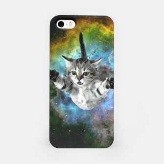 Miniatur Jumper Cat iPhone Case, Live Heroes