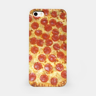 Miniatur Pizza iPhone Case, Live Heroes