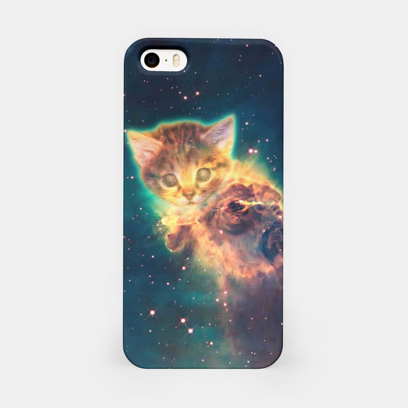 Image of Space Cat 2 iPhone Case - Live Heroes