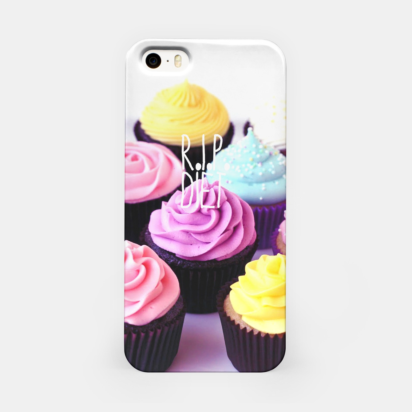 Image of R.I.P. Diet iPhone Case - Live Heroes