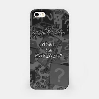 Miniatur What Is Makious? Phone Case, Live Heroes
