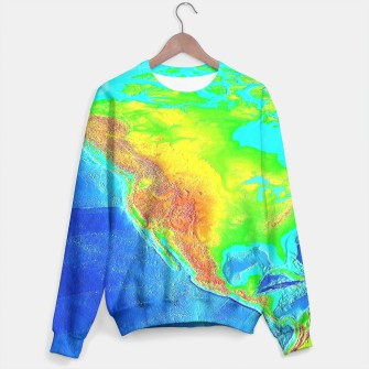 Thumbnail image of Large America Sweater, Live Heroes