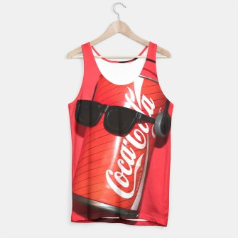 Thumbnail image of Cool Coca Tank Top, Live Heroes