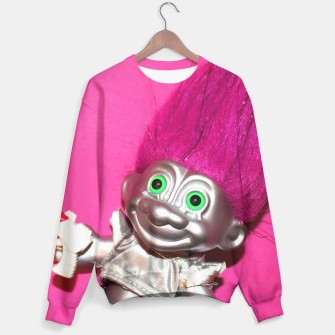 Thumbnail image of Space Troll Sweater, Live Heroes