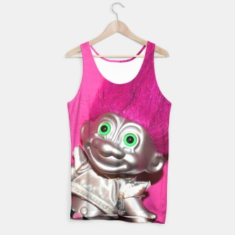 Thumbnail image of Space Troll Tank Top, Live Heroes