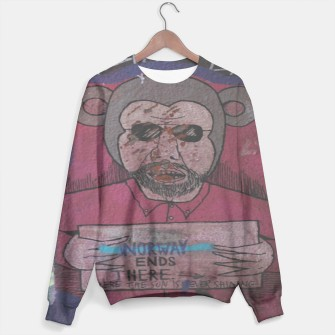Thumbnail image of NORWAY ENDS THERE sweater, Live Heroes