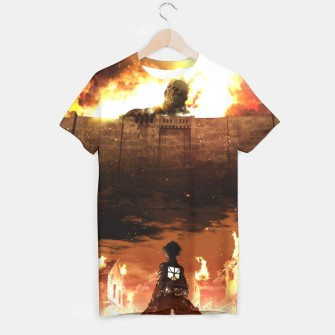 Thumbnail image of Attack on T-shirt, Live Heroes