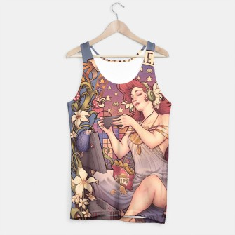 Thumbnail image of Gamer Girl Nouveau tank top, Live Heroes