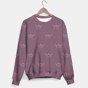 Thumbnail image of REX SKULL Pattern sweater, Live Heroes