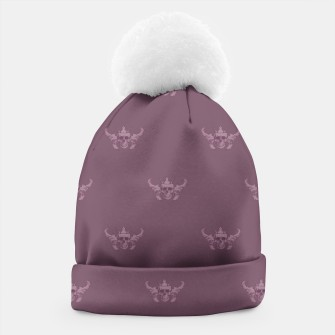 Thumbnail image of REX SKULLS pattern Beanie, Live Heroes
