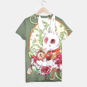 Thumbnail image of Rabbit Hole T-shirt, Live Heroes