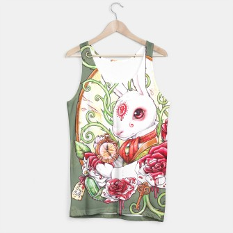 Thumbnail image of Rabbit Hole tank top, Live Heroes