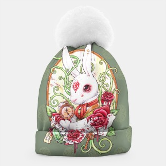 Thumbnail image of Rabbit Hole beanie hat, Live Heroes