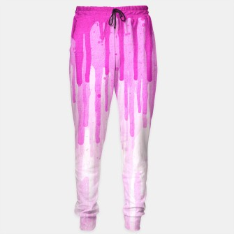 Thumbnail image of Pink Grunge Color Splatter Graffiti Backstreet Wall Background sweatpants, Live Heroes
