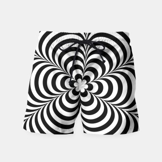 Miniature de image de Modern Black & White Geometric Optical Illusion, Live Heroes