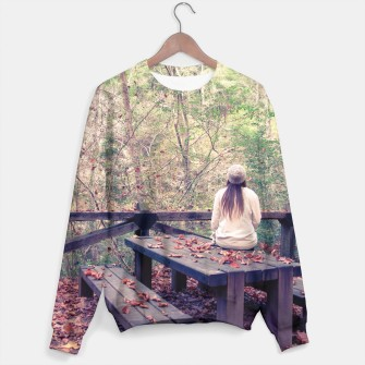 Thumbnail image of Autumn forest Sudadera, Live Heroes